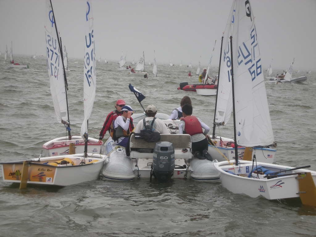 SFYC Opti Team Coach Boat