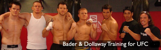 CB &Ryan Bader Training Session