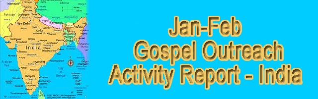 Gospel Outreach Activity Report - India