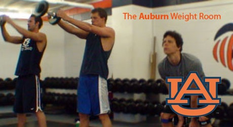 Auburn Weight Room,  Part 1