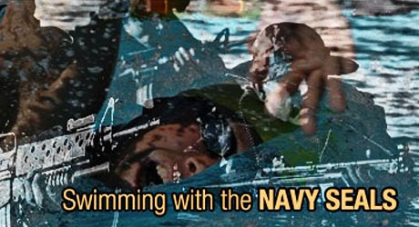 Swimming for Sergeant Reese