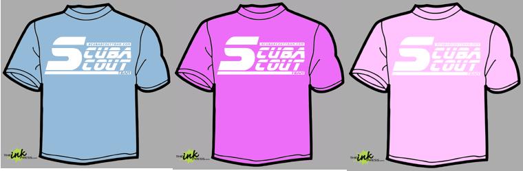2013 Scuba Scout Team T-Shirts