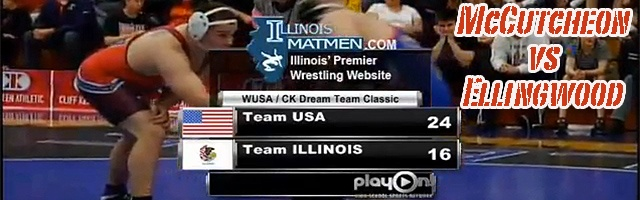 195 lbs match Jordan Ellingwood IL vs. Matt McCutcheon USA