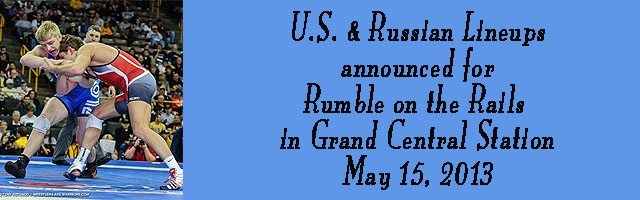 U.S. and Russian lineups announced for The Rumble On The Rai