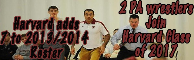Seven Grapplers Will Join Harvard Wrestling for 2013-14 Seas