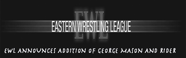 EWL ANNOUNCES ADDITION OF GEORGE MASON AND RIDER
