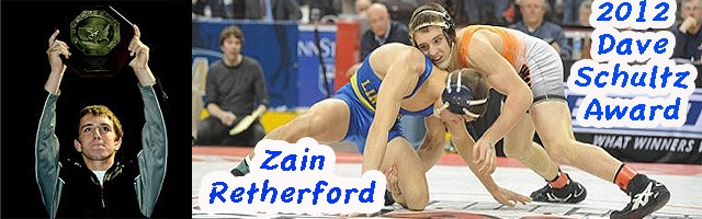 Retherford caps High School Career with Dave Schultz Award