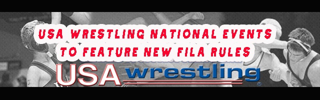 USA Wrestling national events to feature new FILA rules