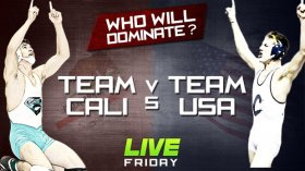 Team Cali Takes On Team USA LIVE Tonight!