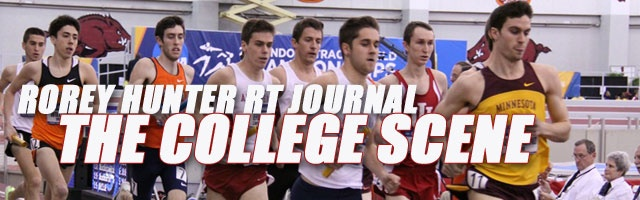 Rorey Hunter RT Journal: The College Scene