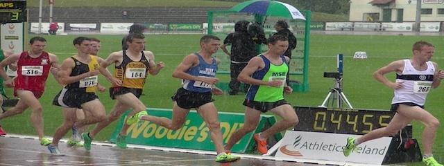 1500m M Final Senior T&F Championships 2013