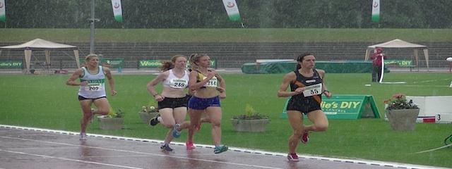 1500m W Final Senior T&F Championships 2013