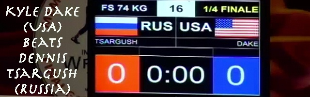 Dake Wins Late Vs. Tsargush