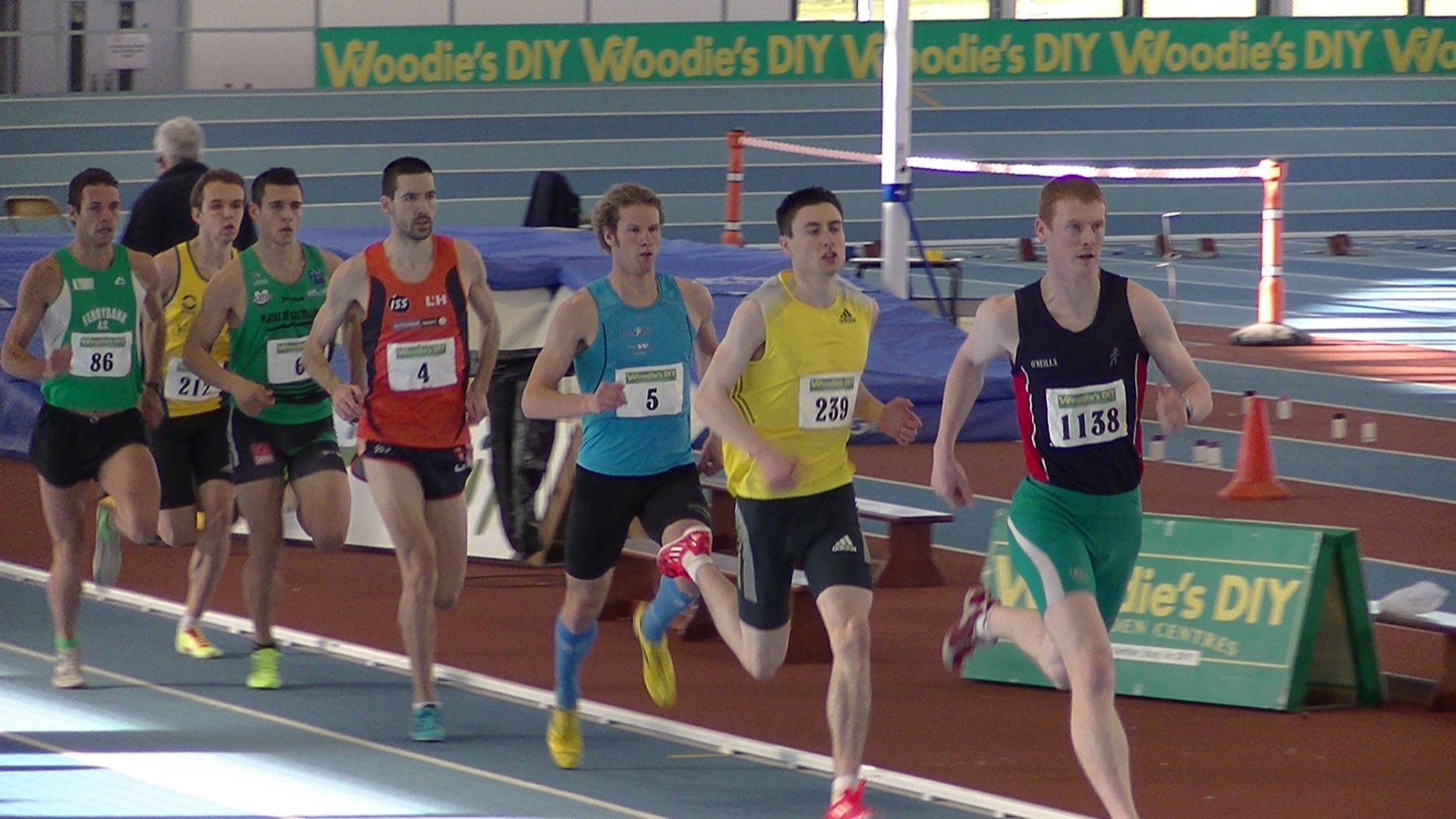 AAI Open Indoor Games 2014 - International 800m