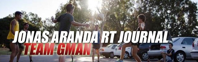 Jonas Aranda RT Journal: Team GMAN