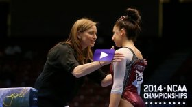Watch Spears Win National Title with her Final Routine