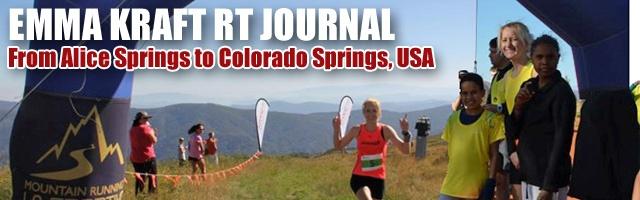 Emma Kraft RT Journal: From Alice Springs to Colorado Spring