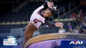 Biles Dominates Once Again