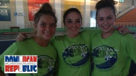 All Star Team Dominican Blog: Rachel, Rachel and Carly
