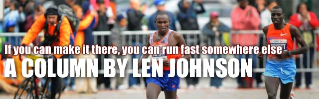 If you can make it there, you can run fast somewhere else