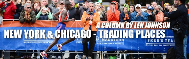 New York and Chicago - Trading places: By LJ