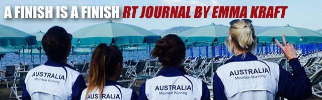 A finish is a finish: RT Journal by Emma Kraft