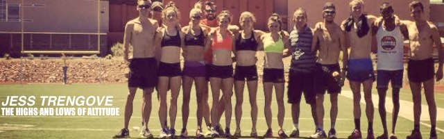 The Highs and Lows of Altitude: By Jess Trengove