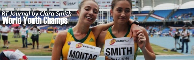 RT Journal by Clara Smith: World Youth Champs Cali, Colombia